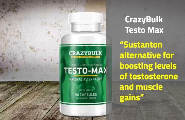 CrazyBulk Testo Max Review, Results - Sustanon Testosterone