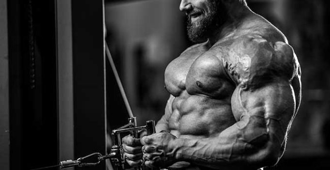 Trenbolobe bodybuilder